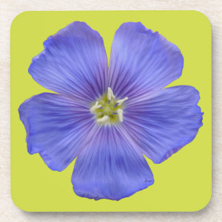 Blue Flax #1 Coaster