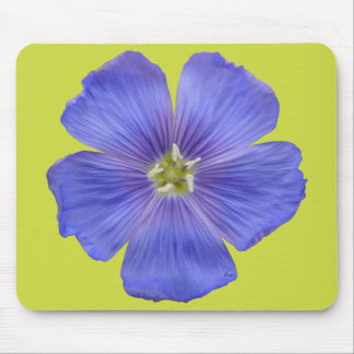 Blue Flax #1 Mouse Pad