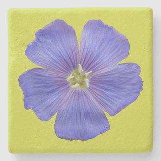 Blue Flax #1 Stone Coaster