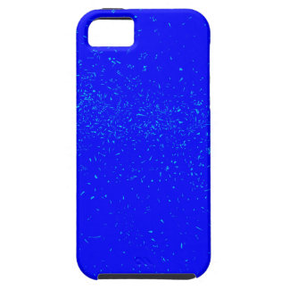 Blue Fleck Background iPhone 5 Cases