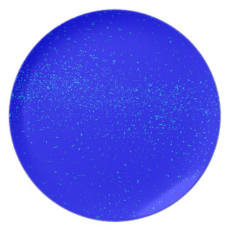Blue Fleck Background Plate