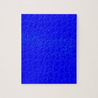 Blue Fleck Background Puzzle