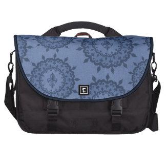 Blue Fleur De Lis Sacoches Pour Ordinateur Portable