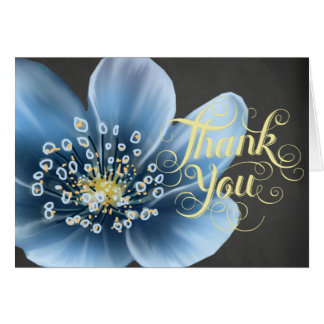 Blue Floral All Occasion Card