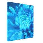 Blue floral canvas original fine-art print canvas print
