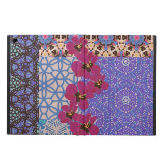 Blue Floral iPad Air Case with Cover by KCS