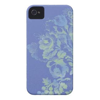 Blue Floral iPhone 4/4S Case