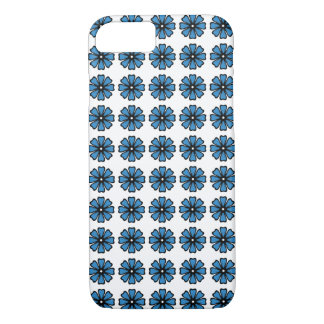 Blue Floral - iPhone 7, Barely There iPhone 7 Case