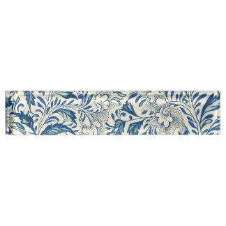 Blue floral Pattern Antique Vintage Nameplate