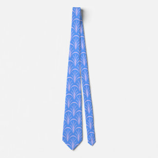 Blue Floral Pattern by storeman Tie