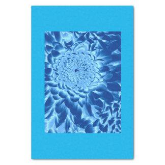BLUE FLOWER 2 TISSUE PAPER