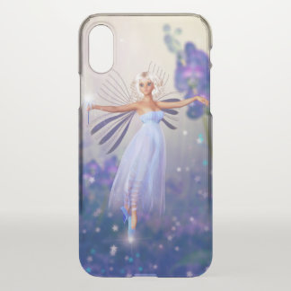 Blue Flower Fairy iPhone X Case