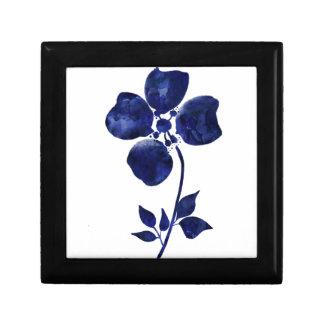 Blue Flower Gift Box