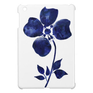 Blue Flower iPad Mini Cover