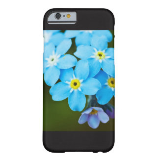 blue flower iPhone 6/6s, Barely There Phone Case