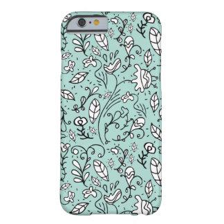 Blue Flower Lace iPhone 6 Case