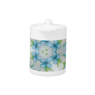 blue flower  Pansy pattern