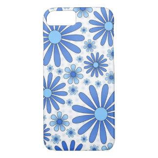 Blue Flower Power Phone Case