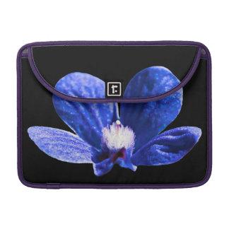 Blue Flower Sleeve For MacBooks