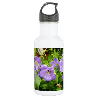 Blue flowers 532 ml water bottle