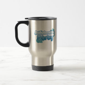 blue flowers bachelorette party ocean bridesmaids stainless steel travel mug