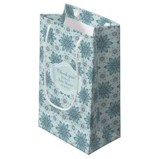 Blue flowers - Gift Bag