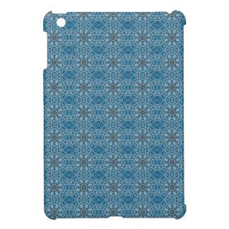 Blue Flowers iPad Mini Cases