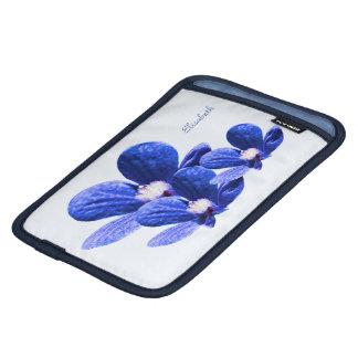 Blue Flowers iPad Mini Sleeves