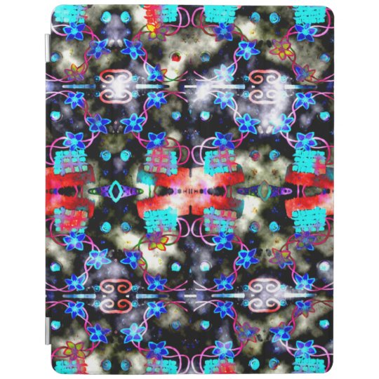 Blue Flowers iPad Smart Cover iPad Cover