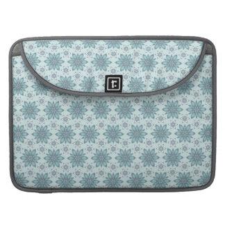Blue flowers - Rickshaw Macbook Sleeve