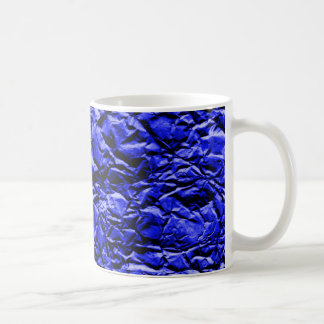 Blue Foil #2 Coffee Mug