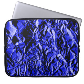 Blue Foil #2 Laptop Computer Sleeves