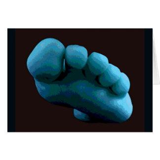 Blue Foot Card