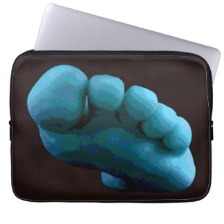 Blue Foot Laptop Sleeve