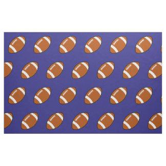 Blue Football Fabric