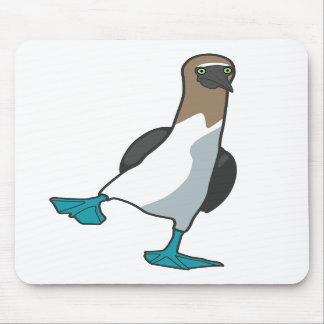blue footed booby mousepad