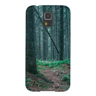 Blue Forest Treescape Nature Photograph Galaxy S5 Case