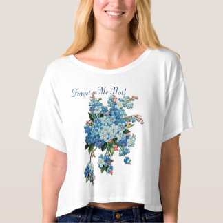 Blue Forget-Me-Nots (Personalized) T-shirt
