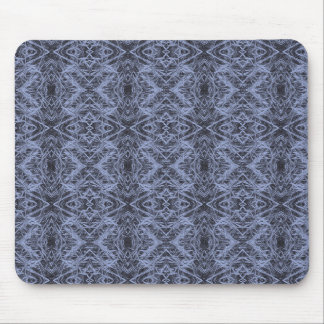 Blue Foxtail Repeat Mouse Pad