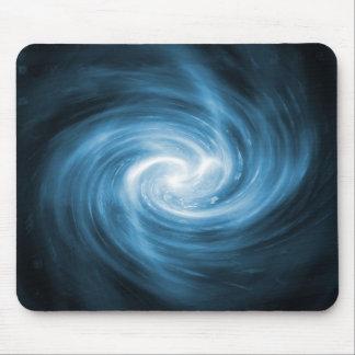 Blue Fractal Mousepad