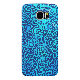 Bluefractalpattern Samsung Galaxy S6 Cases