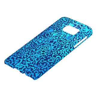 Bluefractalpattern Samsung Galaxy S7 Case