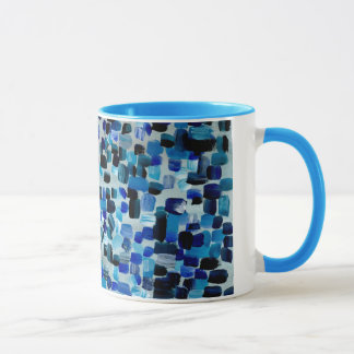 Blue Fractions of Light Mug