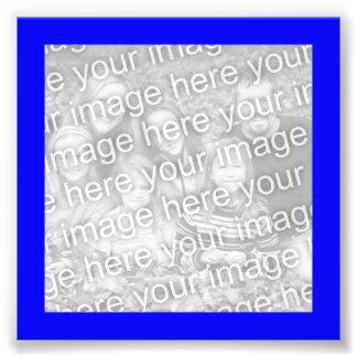 Blue Frame Photo