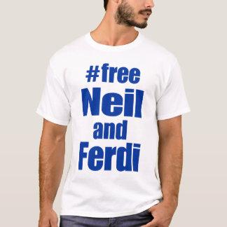 Blue Free Neil and Ferdi T-Shirt