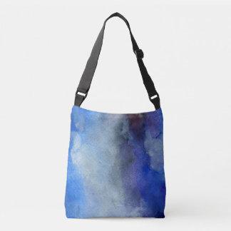 Blue Freedom  All-Over-Print Cross Body Bag