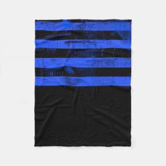 Blue Freedom of Speech Fleece Blanket