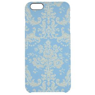 Blue French Wallpaper Ornamental Pattern