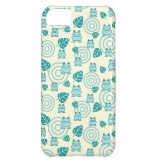 Blue Frogs Case For iPhone 5C