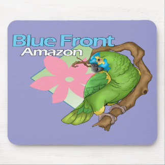 Blue Front Amazon Mousepad